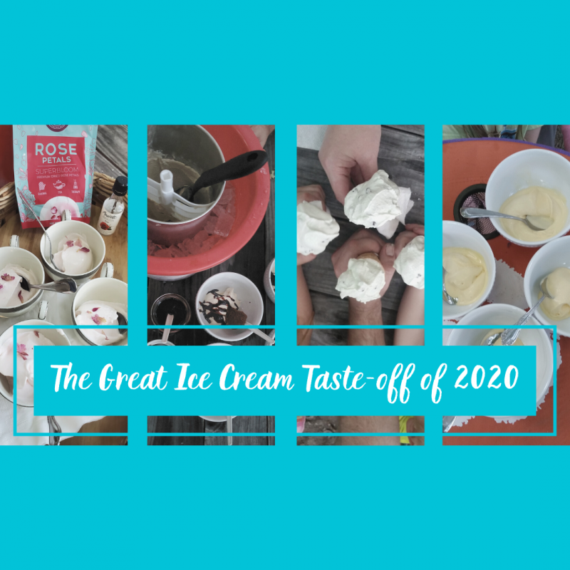 The Great Ice Cream Taste-off of 2020 Project